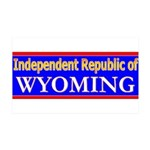 Wyoming-2 38.5 x 24.5 Wall Peel