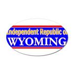 Wyoming-2 22x14 Oval Wall Peel