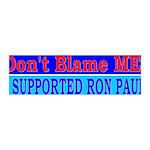 Don't Blame ME-RP 42x14 Wall Peel