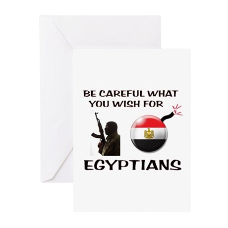 TERRORISTS ARE COMING Greeting Cards (Pk of 20)