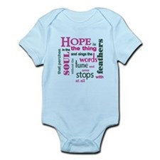 Hope with Feathers Infant Bodysuit