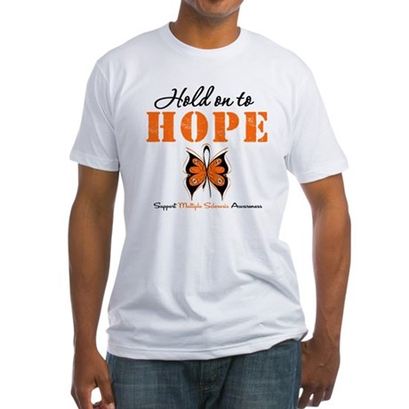 Multiple Sclerosis Hope Fitted T-Shirt
