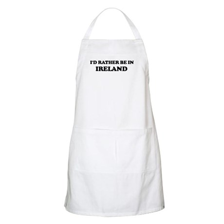 Rather be in Ireland BBQ Apron