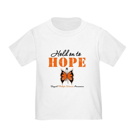 Multiple Sclerosis Hope Toddler T-Shirt