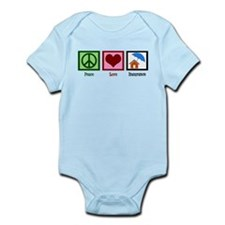 Peace Love Insurance Infant Bodysuit