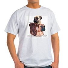 Bullmastiff 1 Ash Grey T-Shirt