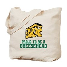 Proud Cheesehead Tote Bag