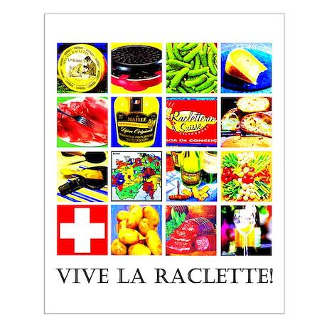 Vive la Raclette! Small Poster