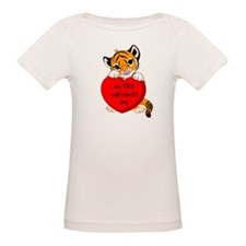 My First Valentines Day Tiger Tee