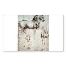 Study of Horses Decal