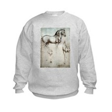 Study of Horses Sweatshirt