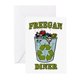 Freegan Diner Greeting Cards (Pk of 10)