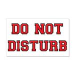 Do Not Disturb 20x12 Wall Decal