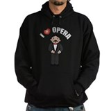 I Love Opera Hoody