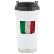 Italy Flag Ceramic Travel Mug
