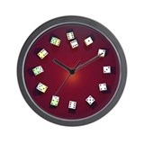 Unique S Wall Clock