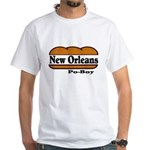 Poboy White T-Shirt