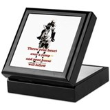 Show Jumper Keepsake Box