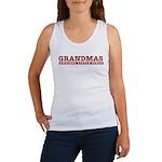 Grandmas Antique Little Girls Women's Tank Top
