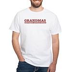 Grandmas Antique Little Girls White T-Shirt