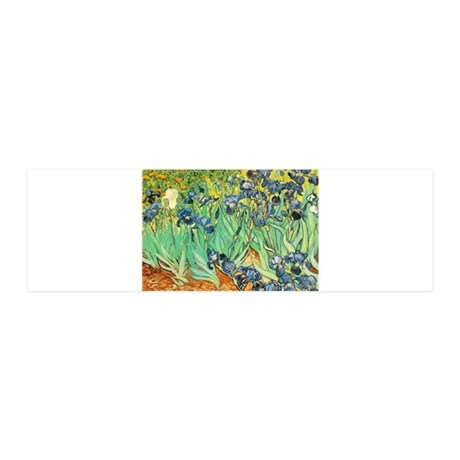 Irises 21x7 Wall Peel