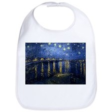 Starry Night Over the Rhone Bib