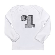I'm Number One Long Sleeve Infant T-Shirt