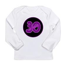 Mom's 30 Long Sleeve Infant T-Shirt