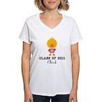 Senior 2011 Chick Women's V-Neck T-Shirt