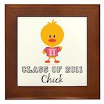 Senior 2011 Chick Framed Tile
