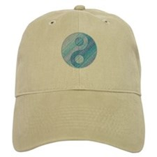 Denim Yin-Yang Baseball Cap