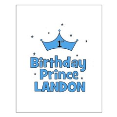 1st Birthday Prince Landon! Posters