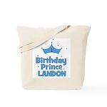 1st Birthday Prince Landon! Tote Bag