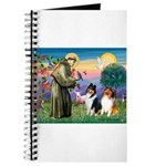 St Francis / Collie Pair Journal