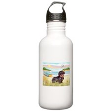 Rowboat / Wire Haired Dacahsh Water Bottle