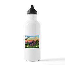 Bright Country / Dachshund (W Water Bottle