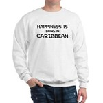 Happiness is Caribbean Sweatshirt