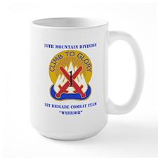 DUI - 1st BCT - Warrior with Text Mug