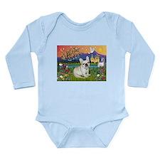 French Bulldog in Fantasyland Long Sleeve Infant B