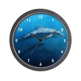 Dolphin Swim Wall Clock