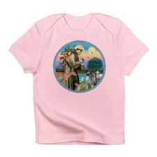 St Francis / Keeshond (#2) Infant T-Shirt