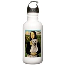 Mona & her Yellow Lab Water Bottle