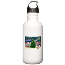 XmasMagic/Lhasa (rx) Water Bottle