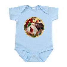 Santa's Maltese 11 Infant Bodysuit