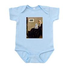 Whistler's Mother Maltese Infant Bodysuit