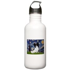 Starry Night & Papillon Water Bottle