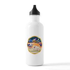 XmasStar/Pekingese (w) Water Bottle
