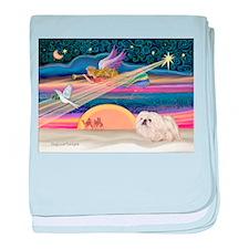 XmasStar/Pekingese (4W) baby blanket