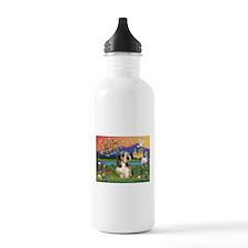 PBGV in Fantasy Land Water Bottle