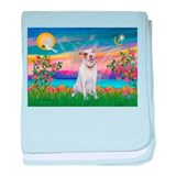 Guardian / Pit Bull Terrier baby blanket
